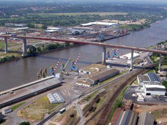 pont de cheviré à Nantes